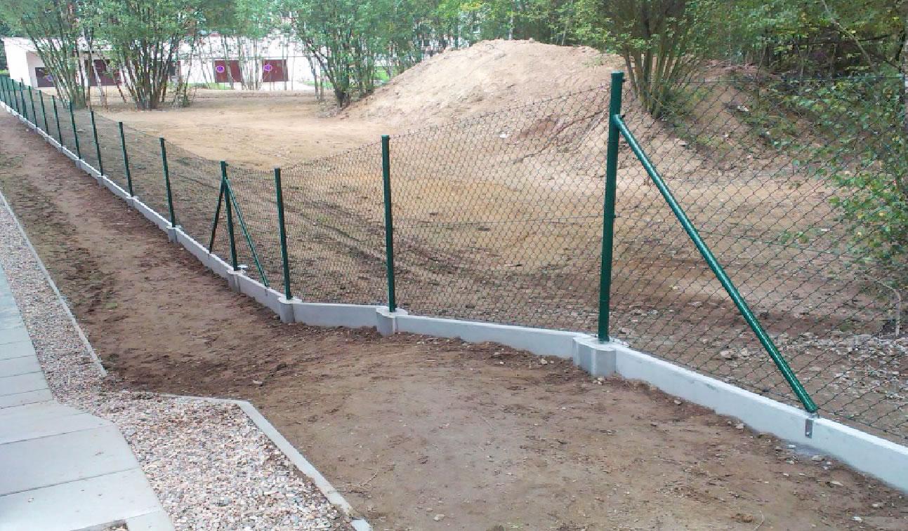 Plotové (podhrabové) plotové desky PD